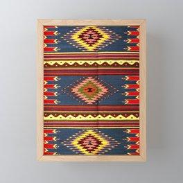 vintage tapis Framed Mini Art Print