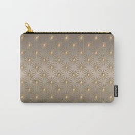 Shiny Golden Stars Carry-All Pouch