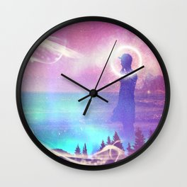 Inquisitive Wall Clock