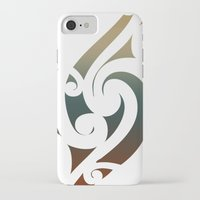 maori iPhone & iPod Cases featuring Maori Style by Lonica Photography & Poly Designs