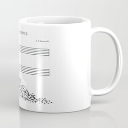The Sound of Silence (Mono) Coffee Mug