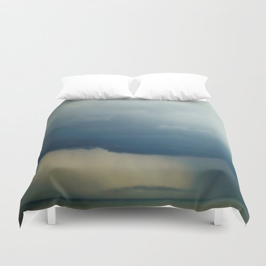 The Calm before the Storm Duvet Cover