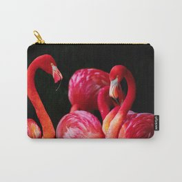 Pink Flamingos Key West, Florida Carry-All Pouch