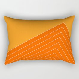 Orange Crush Range Rectangular Pillow