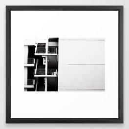 Stairwell Framed Art Print
