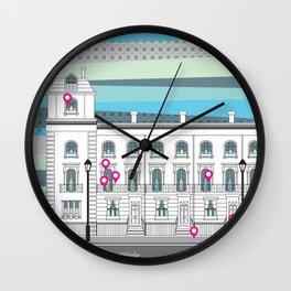 Walton Street Wall Clock