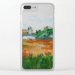 Hobby Farm Clear iPhone Case