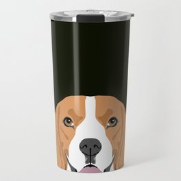 Darby - Beagle gifts for pet owners and dog person with a beagle Travel Mug