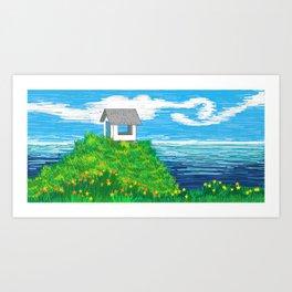 The Lookout II Art Print