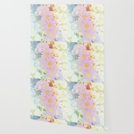 Pink Sorbet Chamomile Flowers Wallpaper
