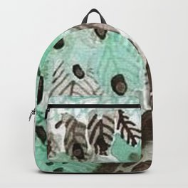 Watercolour Owl Backpack