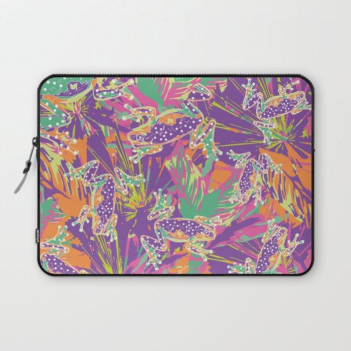 Tropical summer rainforest party Laptop Sleeve