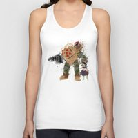 bubbles Tank Tops featuring Bubbles by Melissa Smith