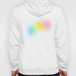 Badass Rainbow Neon Sign Hoody