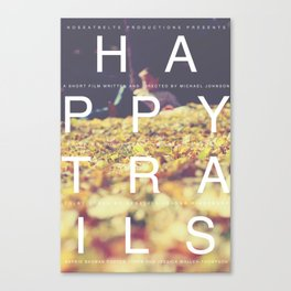 Happy Trails 1 Canvas Print