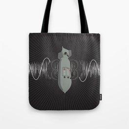 Bomb Bass Tote Bag