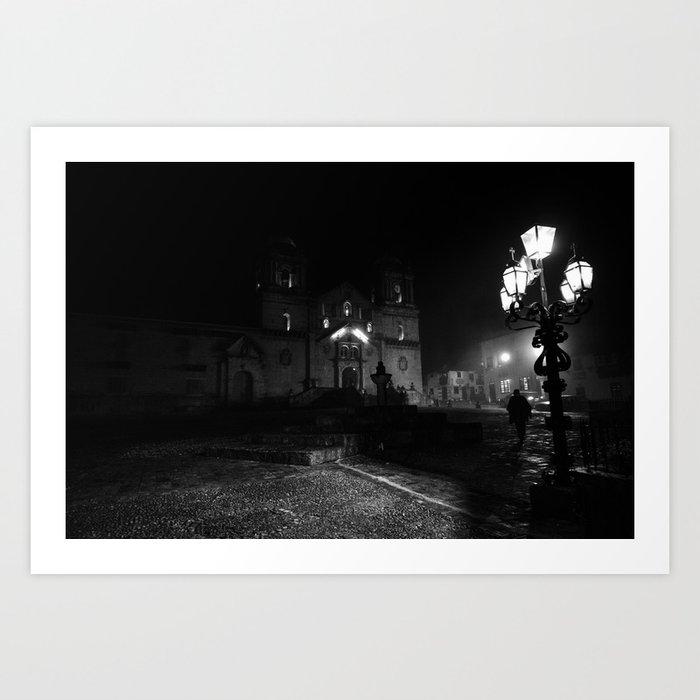 Niebla Art Print