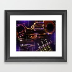 The Trumpet Glow Framed Art Print