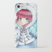 league of legends iPhone & iPod Cases featuring League of legends Annie by Rikku Hanari