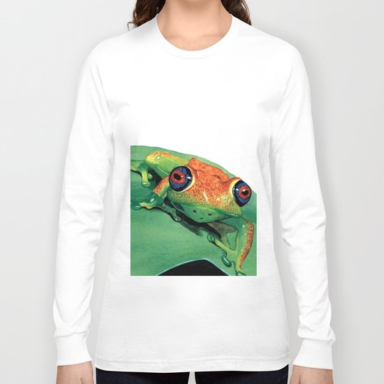 rana del madagascar Long Sleeve T-shirt