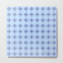 snowflake 8 For Christmas ! Metal Print