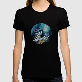 Metallic Jellyfish III T-shirt