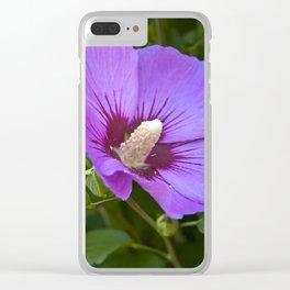 Impression de fleurs françaises Clear iPhone Case