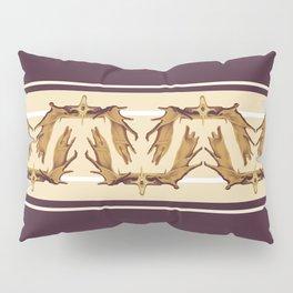 Moose Antler Crown Pillow Sham