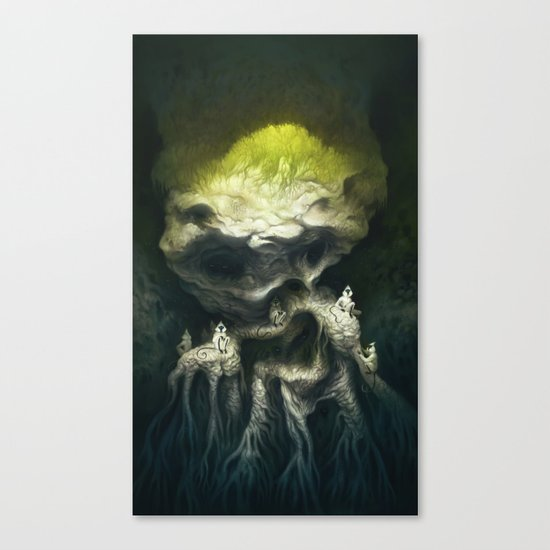 Jöbii Troop Canvas Print