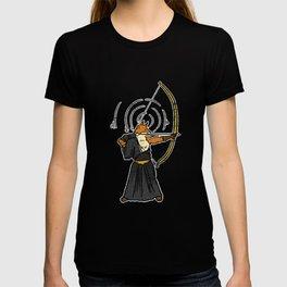 Bow Fox Archery Longbow Gift T-shirt