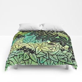 Leafy YingYang Comforters