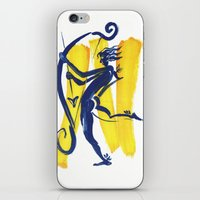 archer iPhone & iPod Skins featuring The Archer by coconuttowers