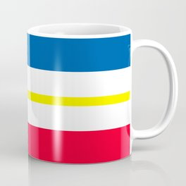 Mecklenburg Western Pomerania region flag germany province Coffee Mug