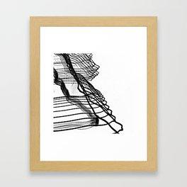 Wave energy Framed Art Print
