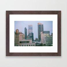 Middle of Midtown Framed Art Print