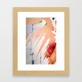 Chut ! Quiet ! Framed Art Print