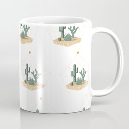 Tucson Arizona Cactus Terrarium Coffee Mug