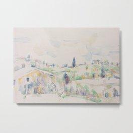 Landscape in Provence Metal Print