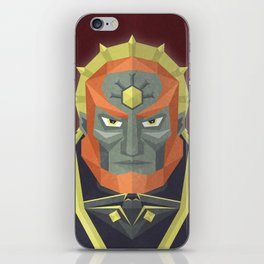 The King of Darkness iPhone Skin