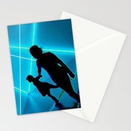 Les ombres bleues Stationery Cards