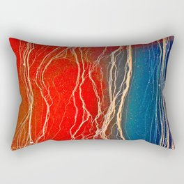 Sensational Scarlet  Rectangular Pillow