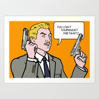 lichtenstein Art Prints featuring Ray Lichtenstein by turantuluy