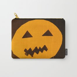 Halloween holiday day carved pumpkin Carry-All Pouch