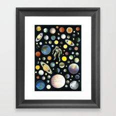 SPACE Framed Art Print