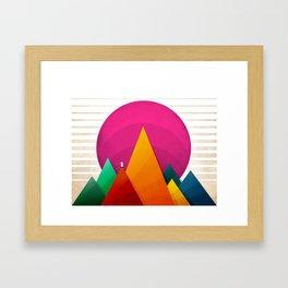 067 - Autumn sunrise Framed Art Print