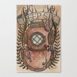 Deep Six Canvas Print