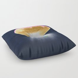 Unidentified Frying Object Floor Pillow