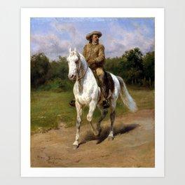 Rosa Bonheur Col. William F. Cody (Buffalo Bill) Art Print