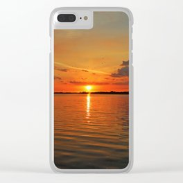 Windswept Charms Clear iPhone Case