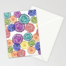 Dancing Dahlias Stationery Cards
